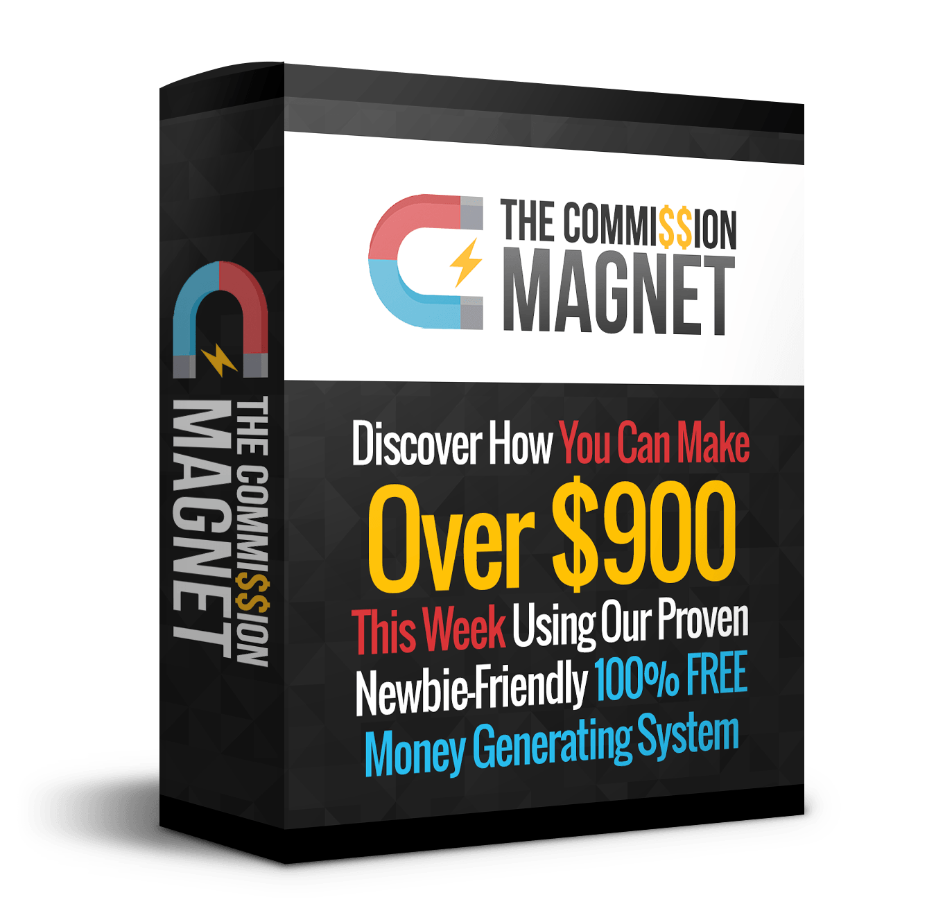 Commission Magnet discount coupon
