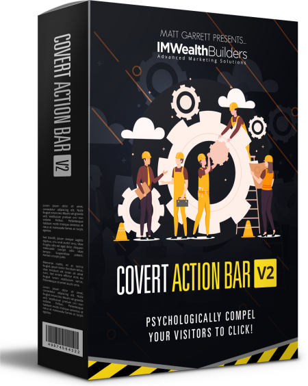 Covert Action Bar V2.0 discount coupon