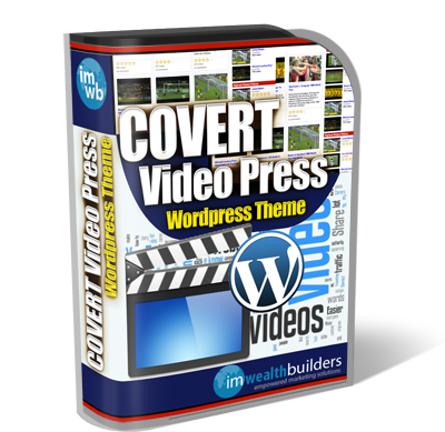 Covert Video Press – WP Video Affiliate Theme discount coupon