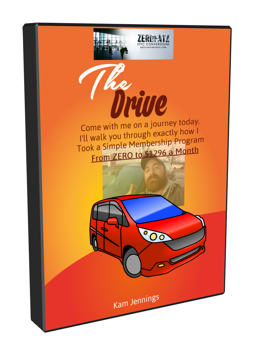 The Drive: ZERO to $1296 MONTHLY! coupon code
