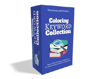 Coloring Keyword Collection discount coupon