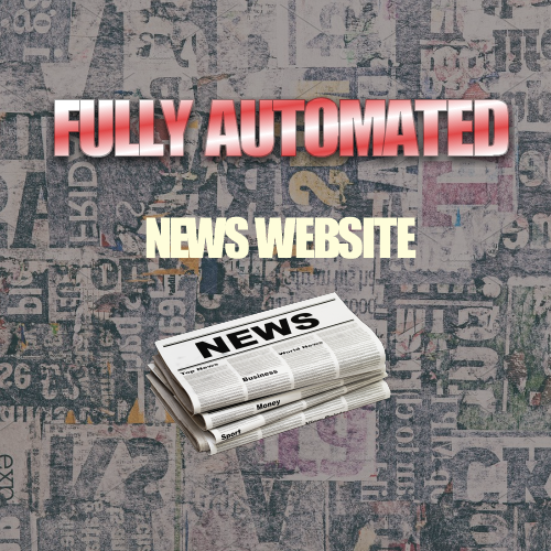 Fully Automated News Website discount coupon