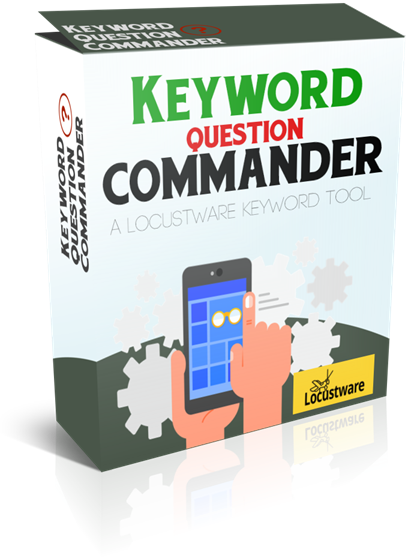 Keyword Question Commander – Custom Software Tool discount coupon