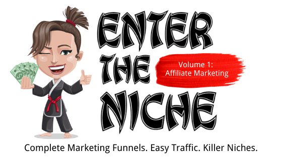 ENTER THE NICHE #1 – Affiliate Marketing discount coupon